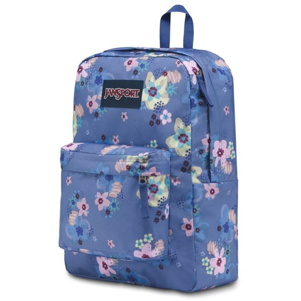 Jansport Superbreak Backpack, Floral