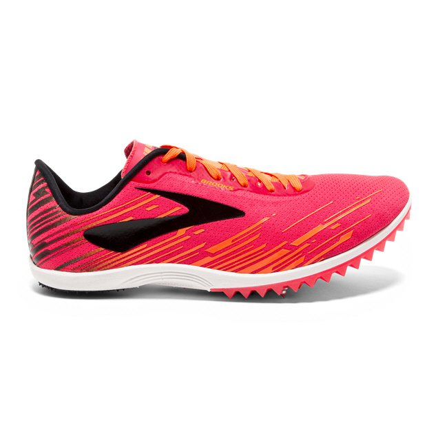 Brooks Mach 18 Women's Running Spikes, Pink