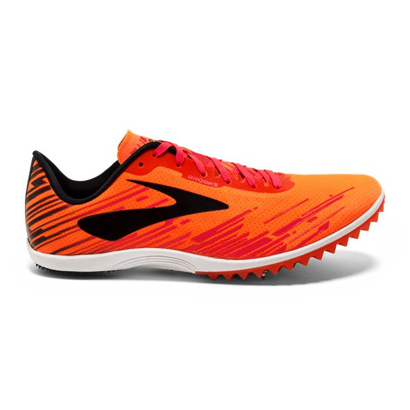 Brooks Mach 18 Men's Running Spikes, Orange