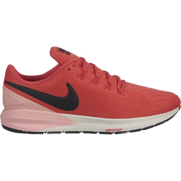 Nike Air Zoom Structure 22 Women's Running Shoe, Red