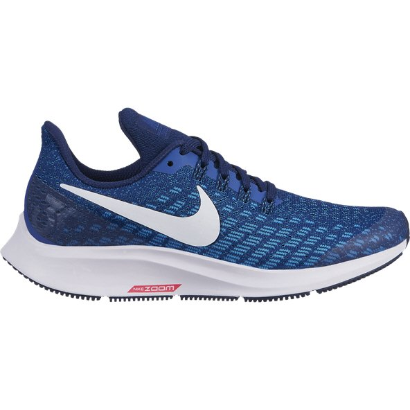 Nike Air Zoom Pegasus 35 Boys' Running Shoe, Indigo