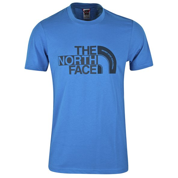 The NorthFace Extent Logo Mens Tee White