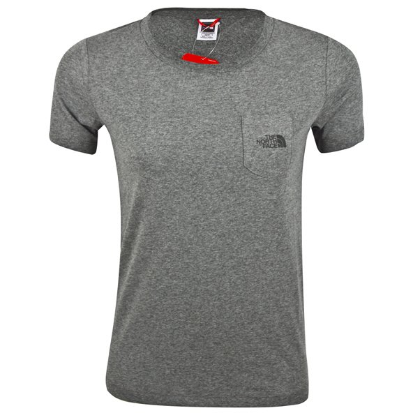 The North Face Extent Logo Women's T-Shirt Grey