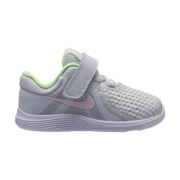Nike Revolution 4 Infant Girls' Trainer, Grey