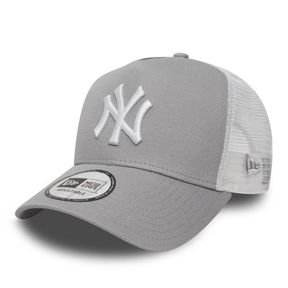 New Era 9Forty NY Yankees Trucker Grey