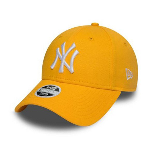 New Era 9Forty NY Yankees Cap, Yellow