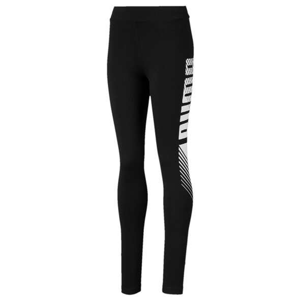 aff417be8229 Puma Essential Style Graphic Girls  Legging Blk