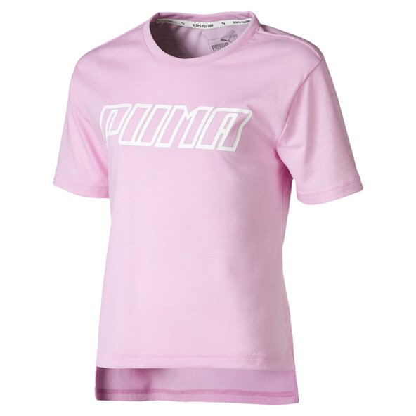 Puma A.C.E. Girls' T-Shirt, Pink
