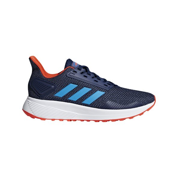 adidas Duramo 9 Boys' Running Shoe, Dark Blue