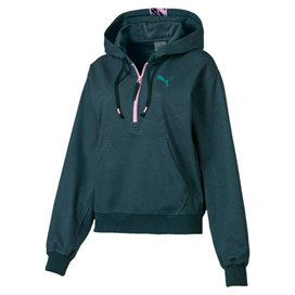 Puma Feel It Cover Up Women's Hoody, Green