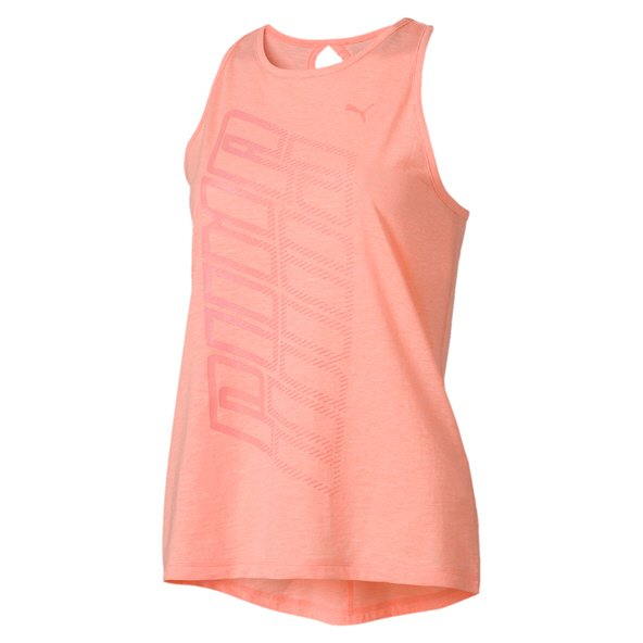 Puma Twisted Logo Wmns Tank Peach
