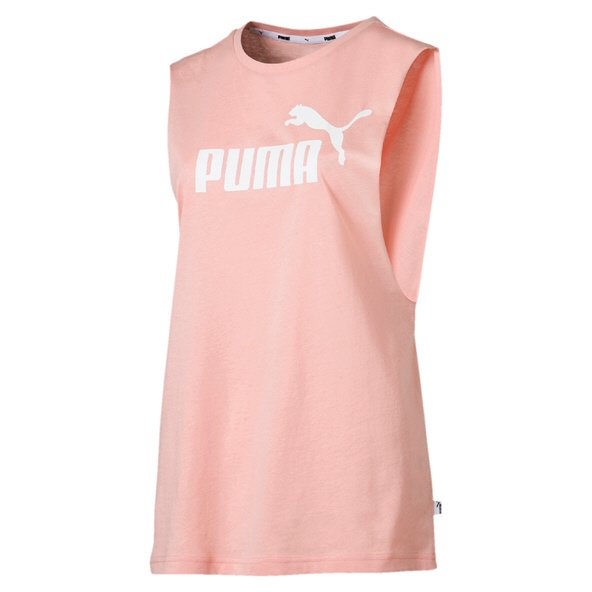 0c05e4025f Puma Essential Logo Women's Cut off Tank Peach