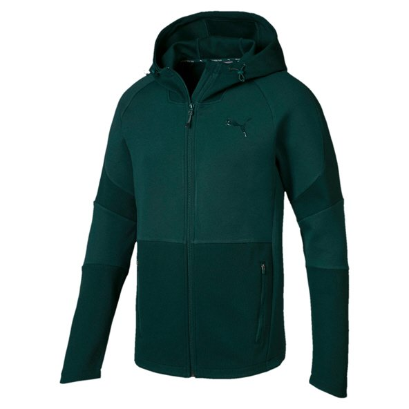 Puma Evostripe Move Men's Hooded Jacket, Green