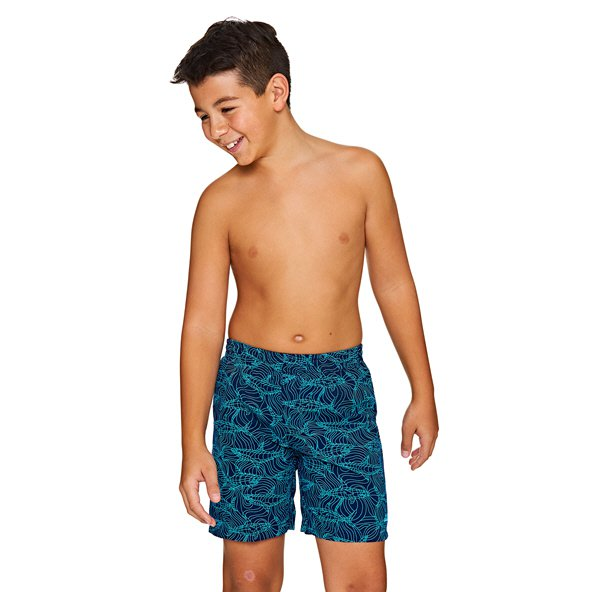 "Zoggs® Sharkonator 15"" Boys' Swim Short, Navy"