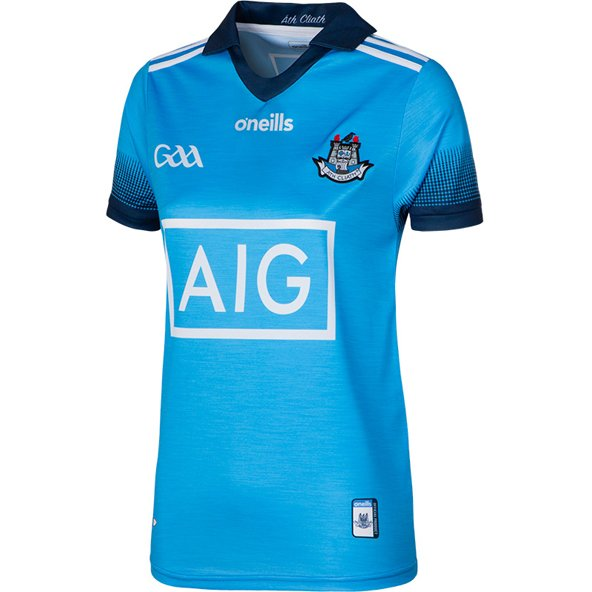 O'Neills Dublin Home 2019 Women's Fit Jersey Blue