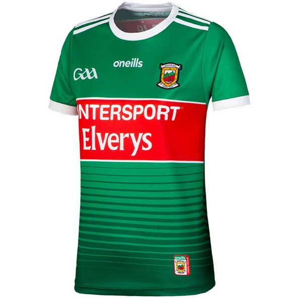 O'Neills Mayo 2019 Home Women's Fit Jersey, Green
