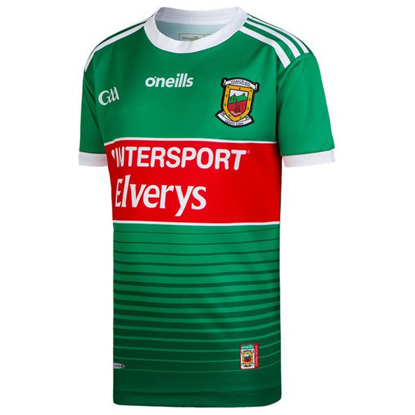 O'Neills Mayo 2019 Kids' Home Jersey, Green