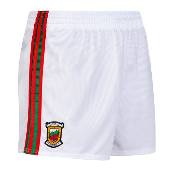 O'Neills Mayo 2019 Kids' Home County Short, White