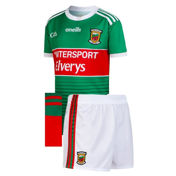 O'Neills Mayo 2019 Kids' Home Kit, Green