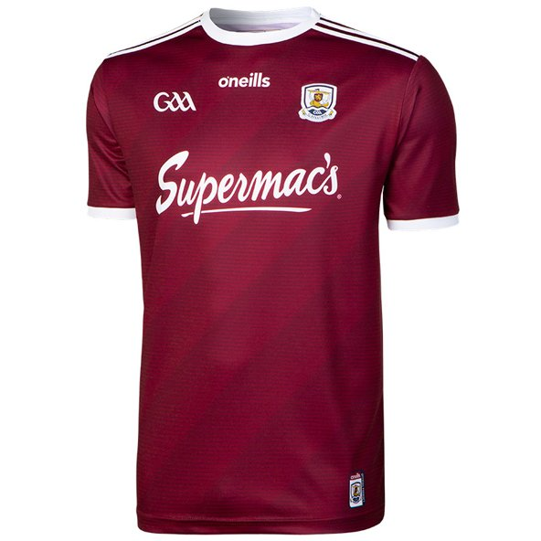 O'Neills Galway 2019 Player Fit Home Jersey, Maroon