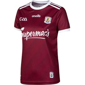 O'Neills Galway 2019 Women's Home Jersey Maroon