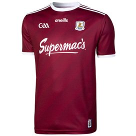 O'Neills Galway 2019 Home Kids' Jersey, Maroon
