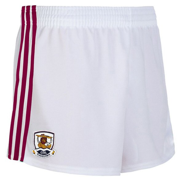 O'Neills Galway 2019 Kids' Home Short, White