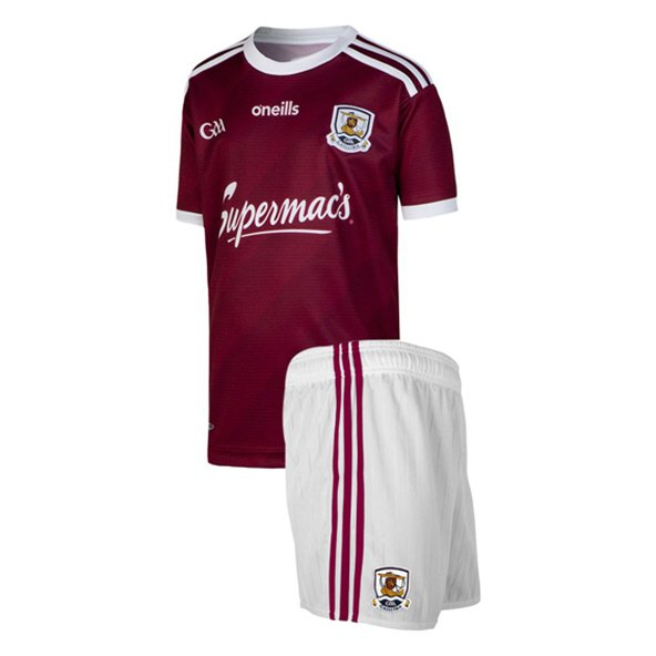 O'Neills Galway 2019 Home Kids' Kit, Maroon