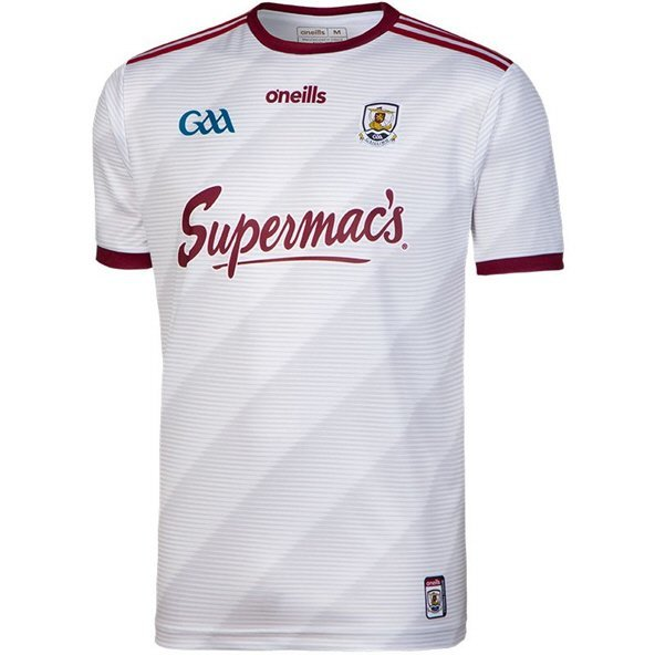 O'Neills Galway 2019 Home Goalkeeper Kids' Jersey White