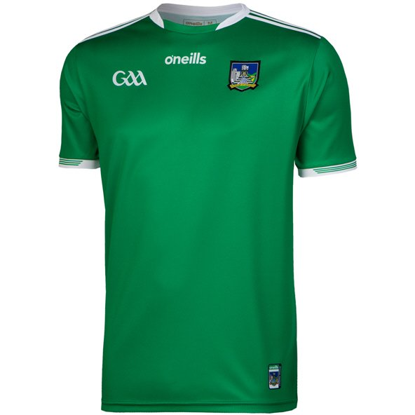 O'Neills Limerick 2019 Player Fit Home Jersey, Green