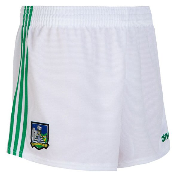 O'Neills Limerick 2019 Kids' Home Short, White