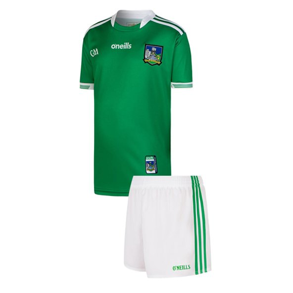 O'Neills Limerick 2019 Kids' Home Kit, Green