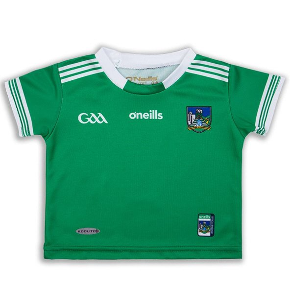 O'Neills Limerick 2019 Junior Home Jersey, Green