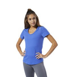 Reebok Workout Women's T-Shirt Cobalt