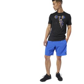 Reebok Workout Woven Men's Short Cobalt