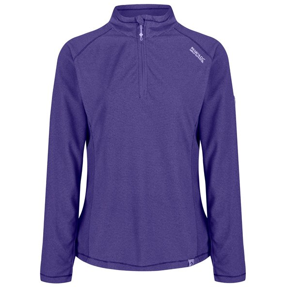 Regatta Montes Women's ¼ Zip Fleece Jacket, Elderberry