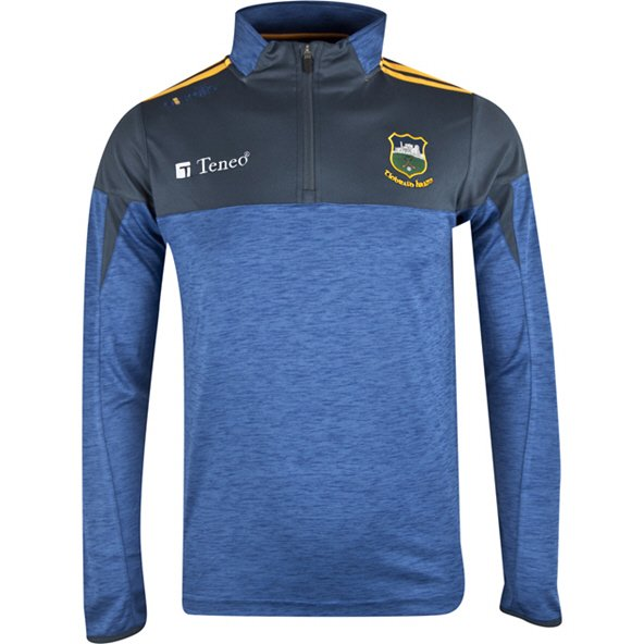 O'Neills Tipperary Cronin ½ Zip Mid Layer Top, Blue