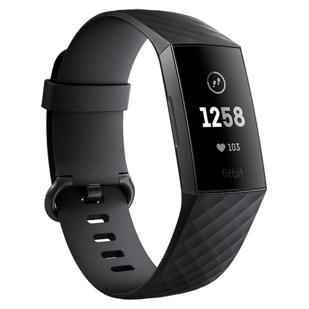 FitBit Charge 3™ Fitness Tracker, Graphite/Black