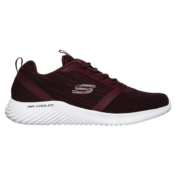 Skechers Bounder Men's Training Shoe, Burgundy