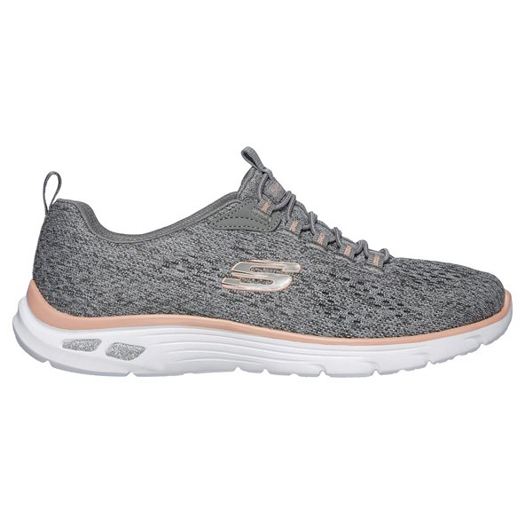 Skechers Empire D'Lux Women's Trainer, Grey