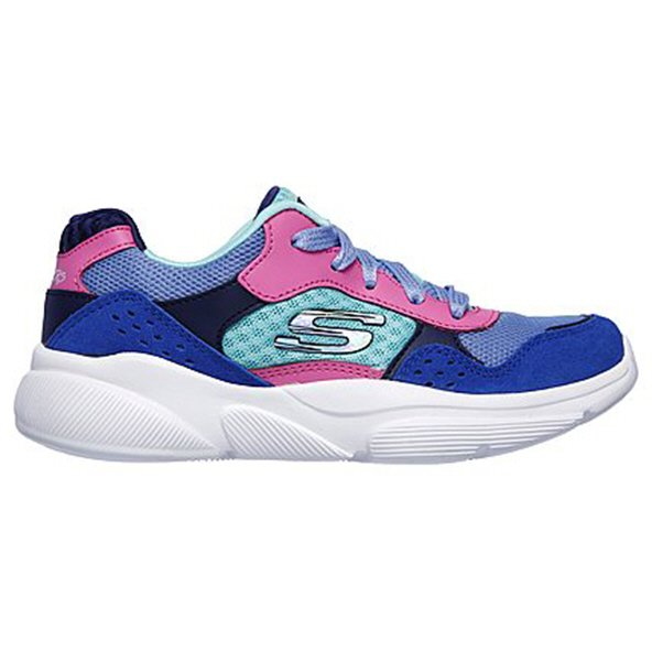 Skechers Meridian Charted Girls' Trainer, Blue