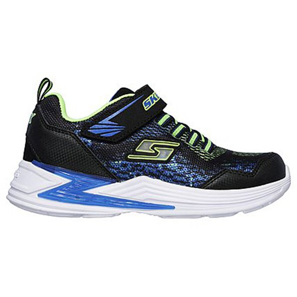 Skechers Erupters III Junior Boys' Trainer, Black