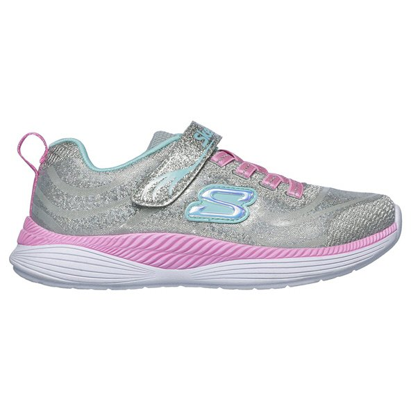 Skechers Move N' Groove Junior Girls' Trainer, Grey