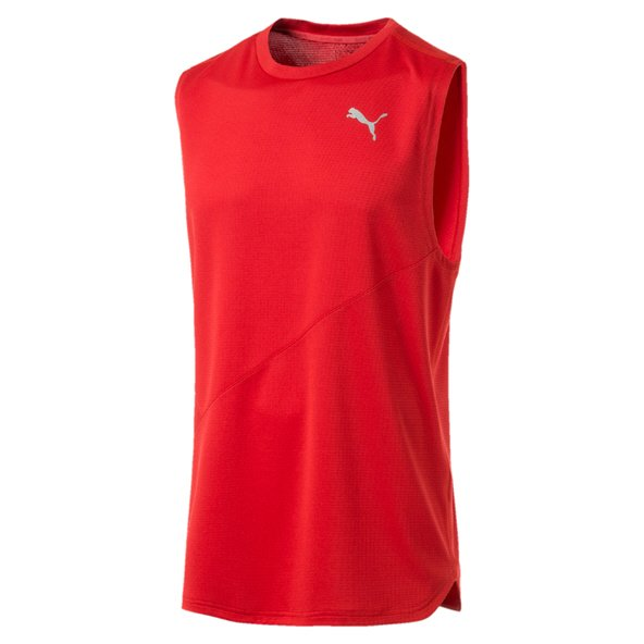 Puma Ignite Singlet Mono Mens Red