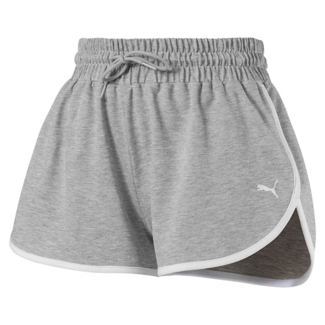 Puma Women Summer Shorts Grey