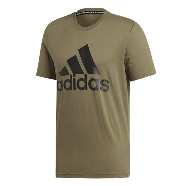 adidas BOS Men's T-Shirt, Green