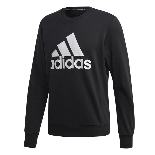 adidas BOS Fleece Crew Men's Sweatshirt, Black