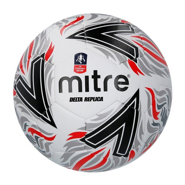 Mitre FA Cup Replica Football, White