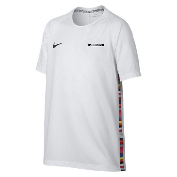 Nike Dry Mercurial Boys' T-Shirt, White
