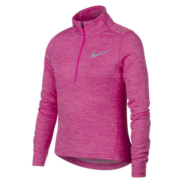 Nike Run Girls' ½ Zip Running Top, Pink